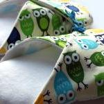 Womens Slippers, Owls, in s..