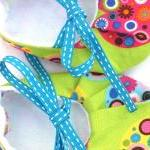 Baby shoes - all my green h..