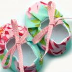 Baby girl shoes - booties, ..